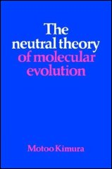 Neutral theory of molecular evolution - Motoo Kimura 1983